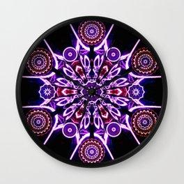 NEON STAR II Wall Clock