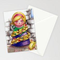 Kokeshi Rapunzel Stationery Cards