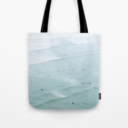 Tiny Surfers from the Sky 2, Lima, Peru Tote Bag