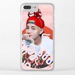 GC boy Clear iPhone Case