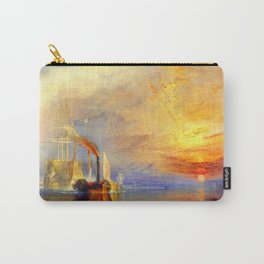 William Turner The Fighting Temeraire Carry-All Pouch