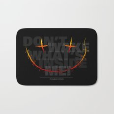 don't wake what's inside me! Bath Mat