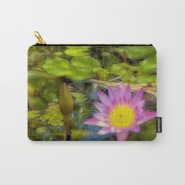 Stunning waterlily Carry-All Pouch