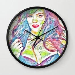 Catherine McPhee (Creative Illustration Art) Wall Clock