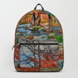 Texas Hill Country Autumn Backpack