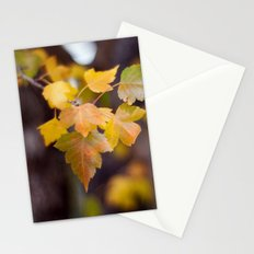 Autumn Yellow Stationery Cards