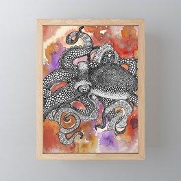 Octopus  Framed Mini Art Print