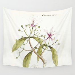 Timeless in its beauty- botanical illustration Wall Tapestry