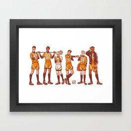 foxhole court boys Framed Art Print