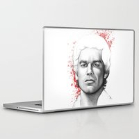 dexter Laptop & iPad Skins featuring Dexter  by Olechka