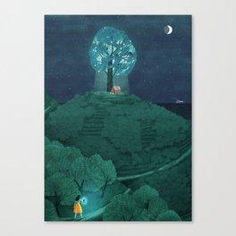 Natural Recall Canvas Print