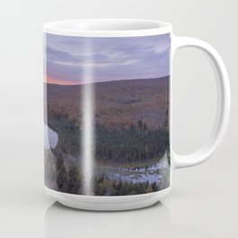Oberg Lake during an Autumn Sunset Coffee Mug
