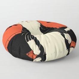 Neko ninja 2 Floor Pillow