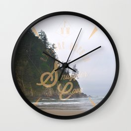 The Smuggler's Cove Wall Clock