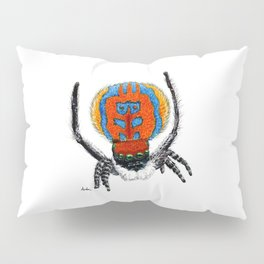 Peacock Spider Pillow Sham