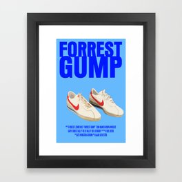 Forrest Gump Movie Poster Framed Art Print