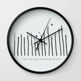 I hope you have a good place to hide Wall Clock