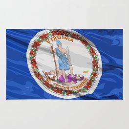 Virginia Fancy Flag Rug