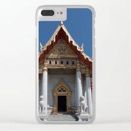 Buddhist temple Bangkok Clear iPhone Case