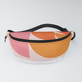 Abstraction_Geometric_Circles_Minimalism_001 Fanny Pack