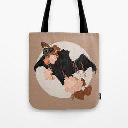 Bat Rises Tote Bag