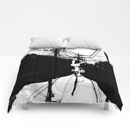 minima - beta bunny / noir Comforters