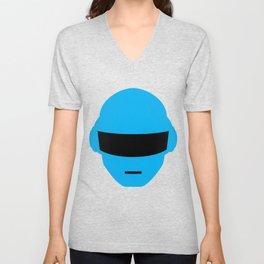 Daft Punk Thomas Bangalter Helmet Unisex V-Neck