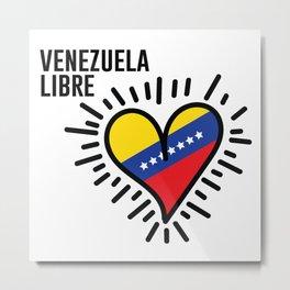 My Venezuelan heart Metal Print