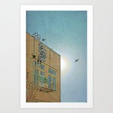 San Francisco Tops 6 Art Print
