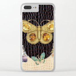 ELEANOR Clear iPhone Case