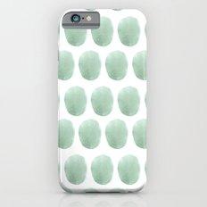 Watercolour polkadot Slim Case iPhone 6s