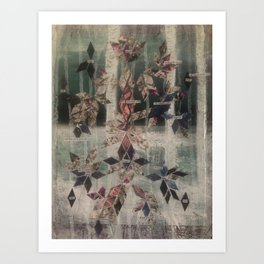 Like strung lights in the Woods Art Print
