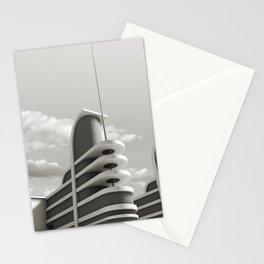 PAN PACIFIC AUDITORIUM BLACK AND WHITE Stationery Cards
