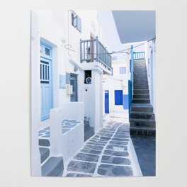 222. From Greece with Love, Mykonos, Greece Poster