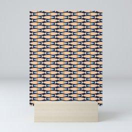 Scalloped Bass Mini Art Print