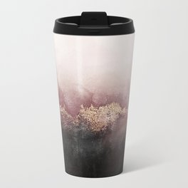Pink Sky Metal Travel Mug