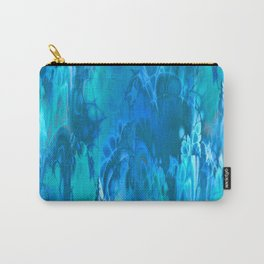 Marshmellow Skies (sapphire-turquoise-sky blue) Carry-All Pouch