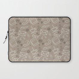 Work Mode (Coffee) Laptop Sleeve