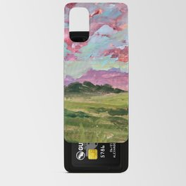 Prairie Sunset Android Card Case