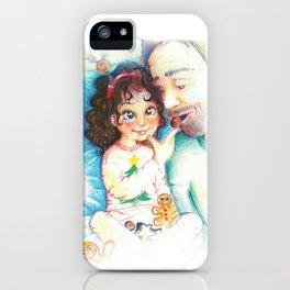Xmas breakfast iPhone Case