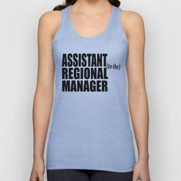 The Office - Assistant To The Regional Manager Unisex Tank Top