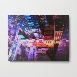 New York City Blade Runner Metal Print
