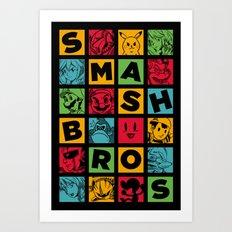 All Stars! Art Print