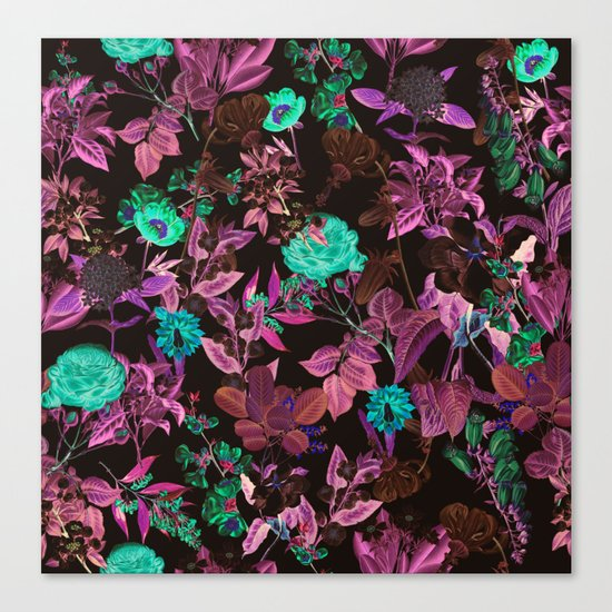 Ambiance Floral Canvas Print