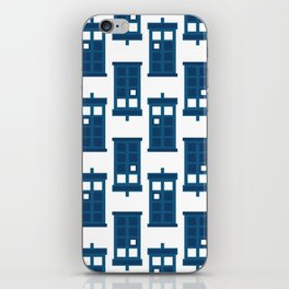 Wibbly wobbly timey wimey stuff iPhone Skin