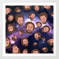 Space Jamm Art Print