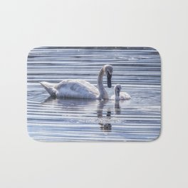 Cygnet with Mother Bath Mat
