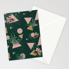Succulents Atoms #society6 #decor #buyart Stationery Cards