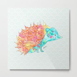 Pudgy Porcupine Metal Print