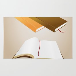 Book collection Rug
